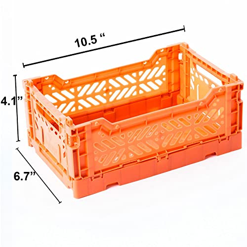 AY KASA Collapsible Storage Bin Container Basket Tote , Folding Basket CRATE  Container : Storage