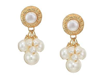 SHASHI Lexi Earrings (Gold Pearl) Earring