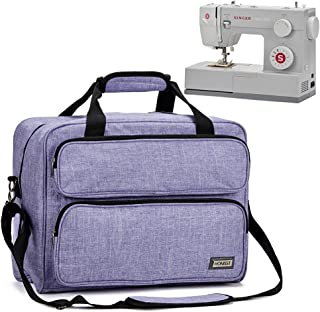 HOMEST Sewing Machine Carrying Case, Universal Tote Bag with Shoulder Strap Compatible..