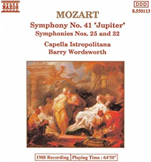 Mozart: Symphonies Nos. 25, 32 And 41