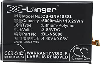 Cameron Sino 5000mAh Battery for BLU D810, D810u, S0090UU, Studio Energy, Studio Energy 2, GIONEE V188, V188S