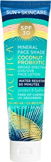 PACIFICA Coconut Probiotic SPF30 Mineral Face Shade, 1.7 FZ