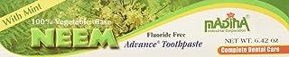 Madina 100% Vegetable Base Neem Advance Toothpaste 6.42Oz With Mint by Madina