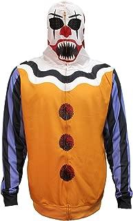 Men's Scary Clown Halloween Costume Hoodie