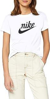 Nike Women's Varsity T-Shirt, White (White/Off Noir), Small