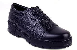 XY HUGO 10009 TS Police Dherby Black Shoe-9