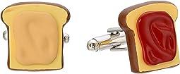 Cufflinks Inc. - 3D Peanut Butter and Jelly Cufflinks