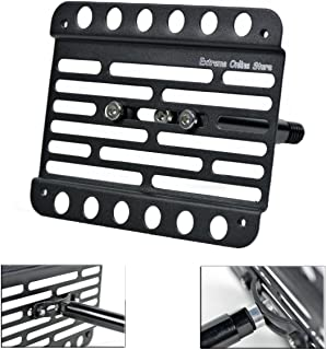 Extreme Online Store for 2013-Up Infiniti QX60 Front Bumper Tow Hook License Plate Relocator Bracket