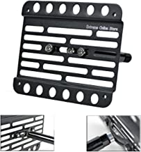 Extreme Online Store for 2015-Up BMW F80 M3 (with PDC) Front Tow Hook License Plate Mount Relocator Bracket