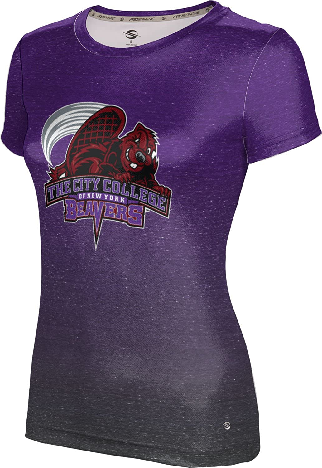 ProSphere City College of New York Girls' Performance T-Shirt (Ombre)