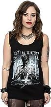 Justin Bieber Mujer Purpose Album Cover Camiseta X-Large Negro