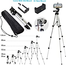110cm Portable Camera Tripod Stand Holder Adjustable Rotatable Retractable Aluminum Tripods Smartphones Mount For iPhone 11 Pro X XR XS Max 7 7 6s 6 Plus Samsung S9 S10 Note 8 9 GoPro XiaoMi Moblie LG