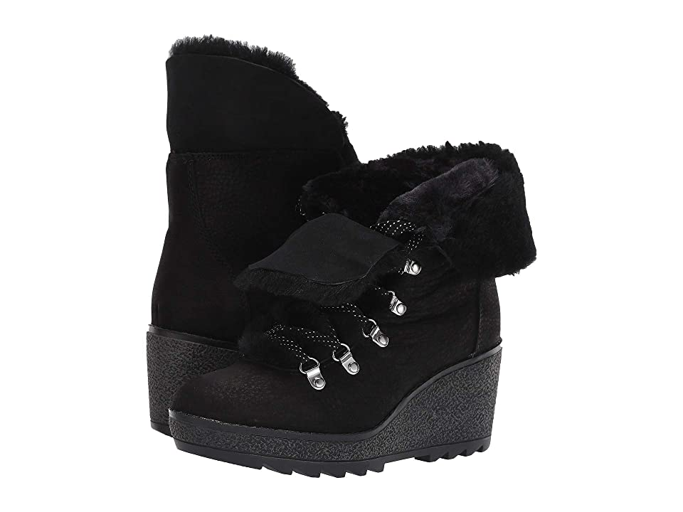 6bbbc4ddfba J.Crew Nordic Wedge Boot (Black) Women s Shoes