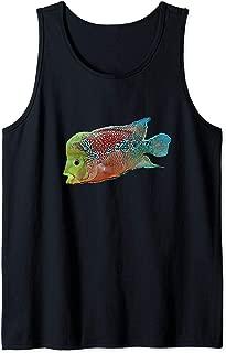 Flowerhorn cichlid freshwater aquarium fish Tank Top