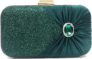 CUCTACBCT Evening Bags for Women Sequin Evening Purses Wedding Party Crossbody Clutch Bag