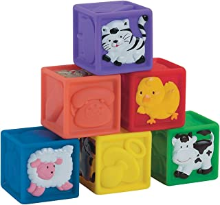 Small World Toys IQ Baby - Squeeze-A-Lot Blocks