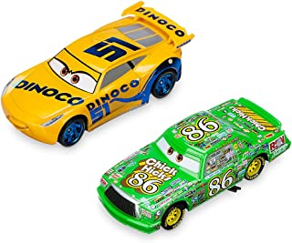 Disney Dinoco Cruz Ramirez & Chick Hicks Die Cast Twin Pack - Cars 3