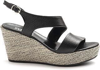 Venta en línea de descuento de fábrica EXTREME - negro Leather Extreme Sandals with Wedge - 2661FOCUS 2661FOCUS 2661FOCUS negro  artículos novedosos