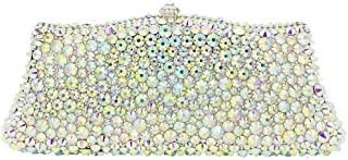 Ladies Banquet Bag Crafted Women's Chain Metal Diamond Rhinestone Sequins Evening Bags Wedding Celebration Party Party Dress Bride Bridesmaid Clutch Bag Ornate Chain Shoulder Tote Wallet Shining