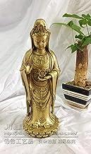 Figurine Animal Statue Chinese Religious Guanyin Bodhisattva Statue Brass Statue