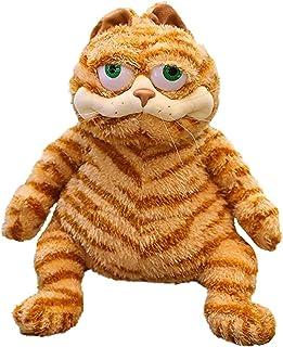 Fat Orange cat Plush Fat Kitten Stuffed Animal Toy, 11.8 inches Realistic Yellow Tabby cat Kitten Toy, Children, Children,...