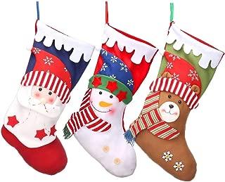 3 PCS Christmas Stockings 18