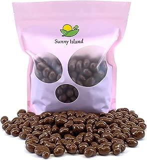 Sunny Island Bulk - Milk Chocolate Covered Cashews Nuts Kosher Gourmet Candy, 2 Pounds Bag