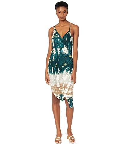 Young Fabulous & Broke Nova Dress (Deep Teal/Geode Wash) Women