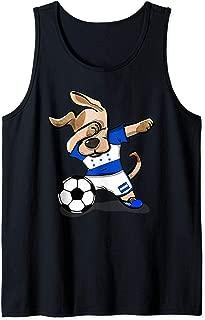 Dabbing Dog Honduras Soccer Jersey Honduran Football Team Tank Top