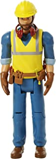 Beverly Hills Doll Collection Sweet Li'lFamily Construction Worker Dollhouse Figure - Action People Set, Pretend Play for...