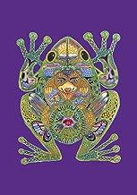 Toland Home Garden 109609 Animal Spirits-Frog 28 x 40 Inch Decorative, House Flag-28
