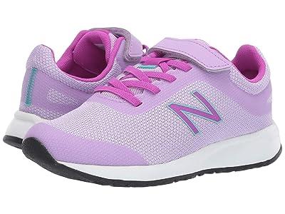 New Balance Kids 455v2 (Little Kid/Big Kid) (Dark Violet/Voltage Violet) Girls Shoes