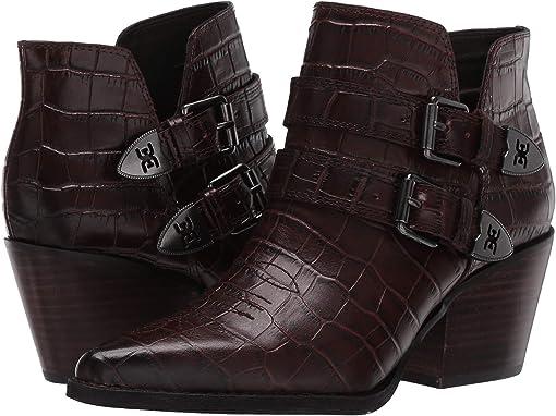 Brown Splendor Croco Leather