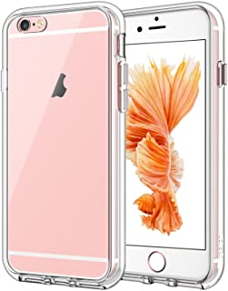 JETech Case for iPhone 6 and iPhone 6s, Shock-Absorption Bumper Cover, Anti-Scratch Clear Back, HD Clear