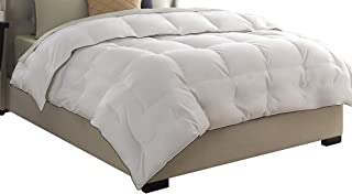 Pacific Coast Feather Company 67903 Medium Warmth Down Comforter, Cotton Cover, Hypoallergenic, King