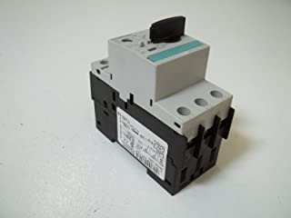FURNAS ELECTRIC CO 3RV1021-1DA10 Discontinued by Manufacturer, Starter Motor Protector, Circuit Breaker, 2.2-3.2 AMP, 3 Pole, 600 VAC, 3 Phase, 1/3 HP, 50/60 HZ, Size-0