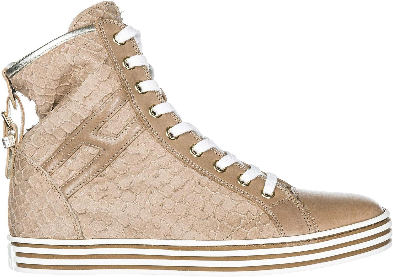 .Hogan Rebel Women R182 Sneakers Beige