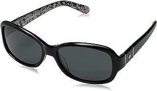 Kính mắt nữ cao cấp – Kate Spade Women's Cheyenne/P/S Polarized Rectangular Sunglasses