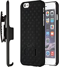 Moona iPhone 6S Case, Shell Holster Combo Case for Apple iPhone 6S / 6 4.7 with Kickstand & Belt Clip 10 Year Warranty! - iPhone 6 Belt Clip Case, iPhone 6 Holster Case, iPhone 6S Thin Case