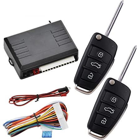 New Car Door Lock Keyless Entry System Auto Remote Central Control Kit C#P5