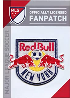 NY Red Bull Soccer Team Crest Embroidered Jersey MLS Futball Patch