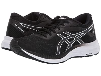 ASICS GEL-Excite(r) 6 (Black/White) Women