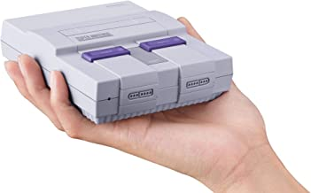 Super Nintendo Classic Mini: Super Nintendo Entertainment System contains 21 pre-installed classic games by Nintendo 2017