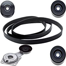 ACDelco ACK061031 Professional Automatic Belt Tensioner and Pulley Kit with Tensioner, Pulleys, and Belt