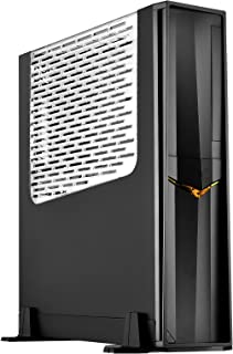 Silverstone SST-RVZ02B-W - Raven Mini-ITX Gaming Computer Case, with Window, Black