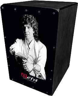BETA - Mod. Camaron (negro) | Cajón flamenco de percusión. Caja tamaño estándar (adultos) personalizada fabricada 100% en abedul (sonido semiprofesional)