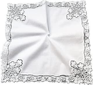 handmade lace handkerchief
