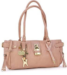 Catwalk Collection Handbags Leder - Umhängetasche/Lederhandtasche - CHANCERY