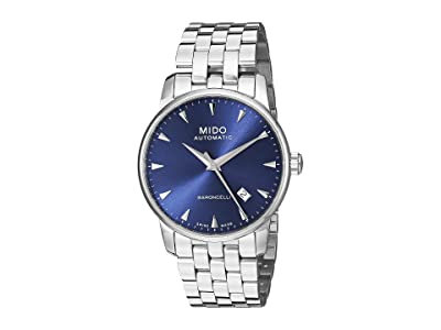 Mido Baroncelli Stainless Steel Bracelet M86004151 (Blue) Watches