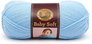Lion Brand Yarn 920-106B Babysoft Yarn, Pastel Blue